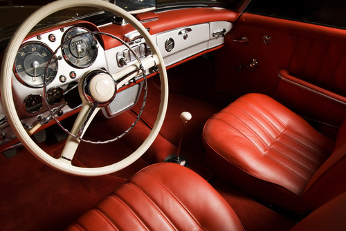 Intérieur Automobile Classique